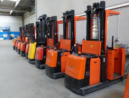 3 Signs Your Forklift Needs Tires, Blades or Total Refurbishment