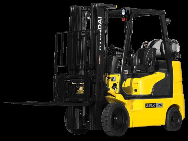Yellow LPG Forklift