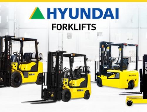 Hyundai Forklift Heads to Saint Louis
