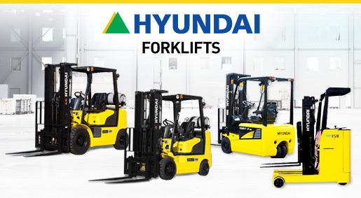 Hyundai Forklift Heads To Saint Louis Benco Industrial