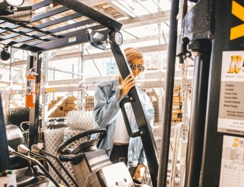 Properly Balancing a Forklift Load